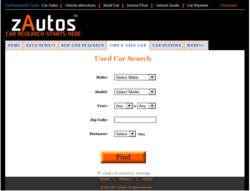 Used Car Search