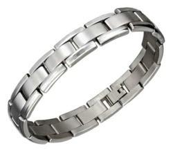 Stainless Steel Stampato Link Bracelet
