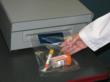 Smart Seal can be installed within a pneuamtic tube station or on a nearby counter.