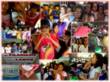 """The second place entry (left) was submitted by Eunice Cacatian. Her photo was captioned, """"Filariasis Campaign: These pictures were taken at Antipuluan Elementary in Narra, Palawan, Philippines during"""