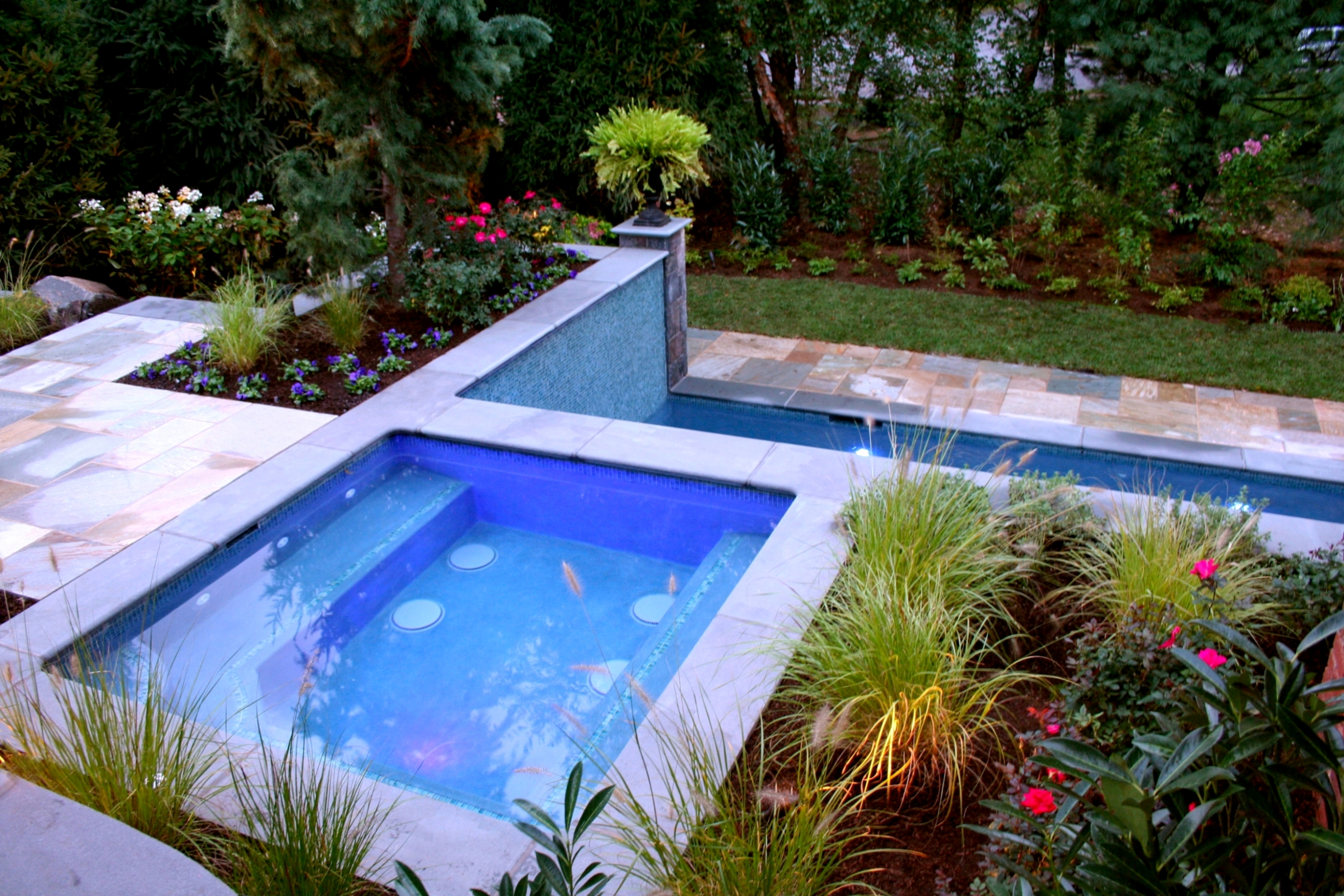 New jersey landscape architects earn five awards for pools for Landscape gardeners poole