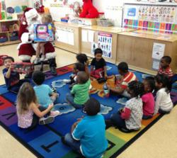 Santa Delivers Toys to Economically Challenged Children