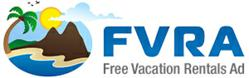 Free Vacation Rentals Ad Logo