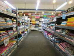 Huge selection of unqiue fabrics and craft items at bargain prices.