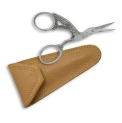 left-handed stork scissor with case