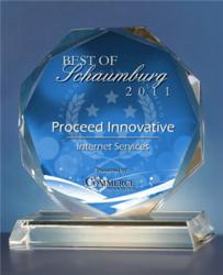 Proceed Innovative, a Digital Marketing Company, Receives 2011 Best of Schaumburg Award