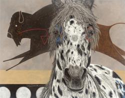 The Buffalo Tipi - Judy Larson - World-Wide-Art.com