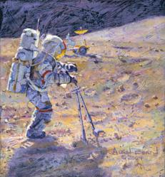 Some Tools of Our Trade - Alan Bean - World-Wide-Art.com