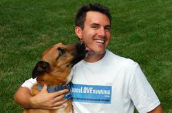 John Reh, president of Dogs Love Running! Franchising