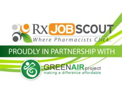 Rx Job Scout and Green Air Project Sustainability Logo