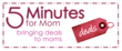 5 Minutes For Deals coupon