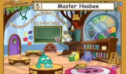 English Classroom in Oville Virtual Educational World