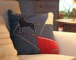 "The New Laura Megroz-Designed Pillow ""Bow Wow Rider Sloop"""