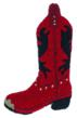 Christmas Stocking cowboy boot
