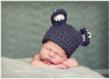 Mouse ears on baby boy by NJ Newborn Photographer Christine DeSavino