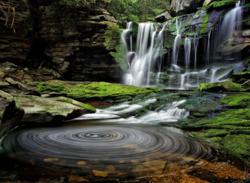 Elakala Waterfalls at Blackwater Falls State Park, West Virginia