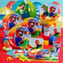 Super Mario Birthday Supplies