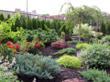 Queens office rent, garden view