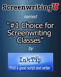 """ScreenwritingU Named """"#1 Choice forl Screenwriting Classes"""" by InkTip"""