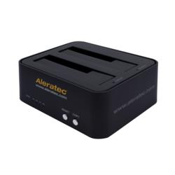 Aleratec-1-to-1-HDD-Copy-Cruiser-Mini-USB-3-SATA-HDD-Duplicator-Part-350115