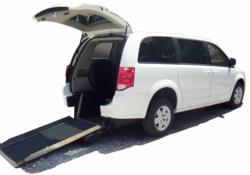 wheelchair minivans for taxis