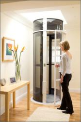 Vacuum Elevator being used in a residential home.