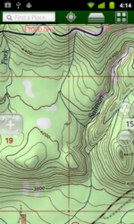 Topo Maps on an Android Phone