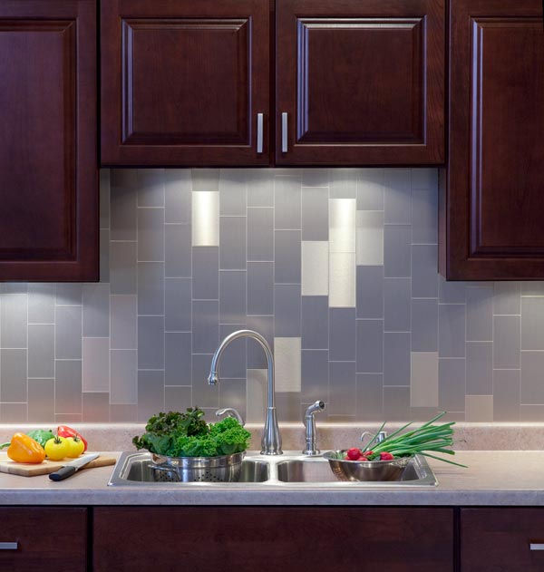Peel And Stick Backsplash Tiles: Kitchen Backsplash Project Kits From BacksplashIdeas.com