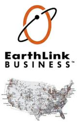 Earthlink Business Coverage Area - Network Diagram