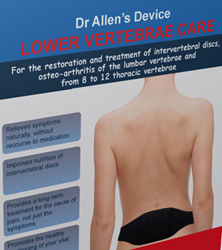 Fine Treatment makes Dr. Allen's Device for Lumbar Pain Relief available internationally