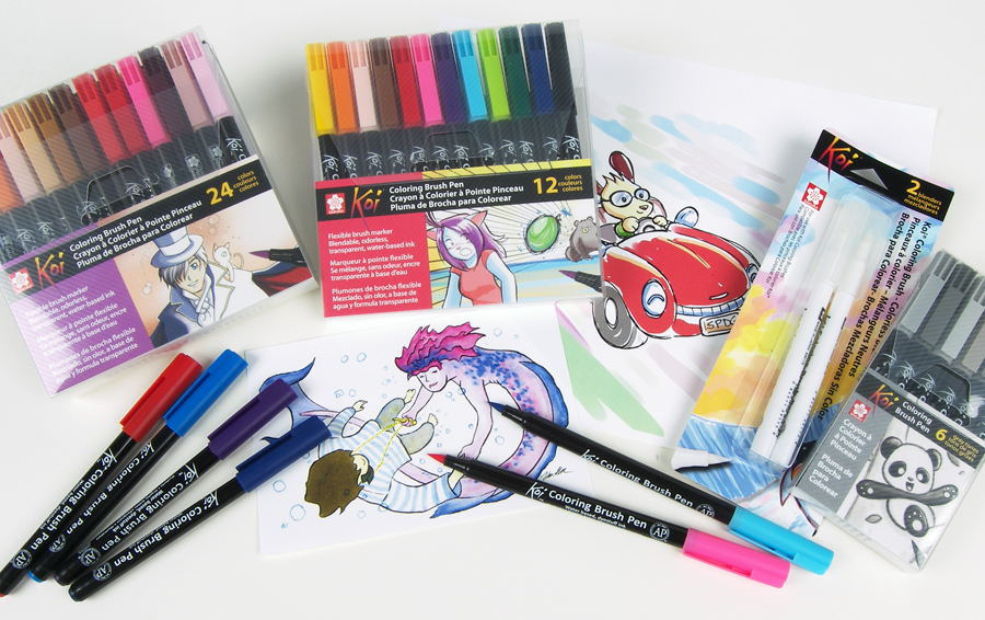 Sakura Launches Koi® Coloring Brush Pens in a Vibrant Array of 48 ...