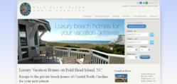 Private luxury vacation homes along the North Carolina Coast