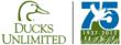 75th Anniversary Ducks Unlimited Logo