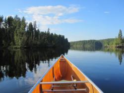Boundary Waters canoe trips