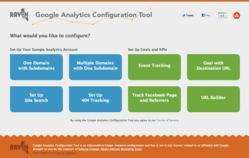 Google Analytics Configuration Tool