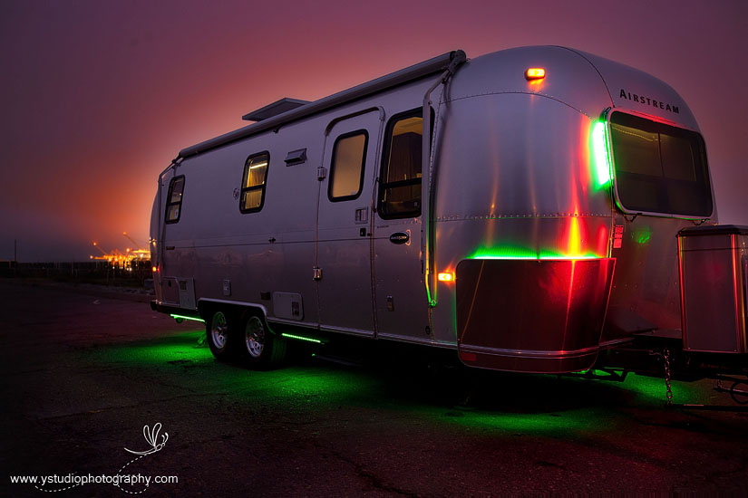 Rv outdoor led lights outdoor lighting elemental led to host open house for on the green road airstream project aloadofball Gallery
