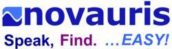 Novauris logo and tagline