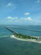 En route to Little Palm Island