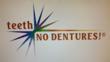 teeth ~ NO DENTURES! (TM) logo
