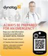 Dynotag QR Code ECI Pendant
