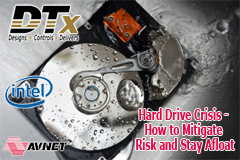 About the Presenters of DTx's Webinar - Hard Drive Crisis – How to Mitigate Risk and Stay Afloat:  Nancy Moren, a Storage Business Development Manager at Avnet Inc., has over 10 years of experience working in the storage market.  Prior to joining Avnet sh