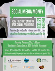 Social Media Money - How The Shirt On Your Back Can Be Profitable- Jason Sadler