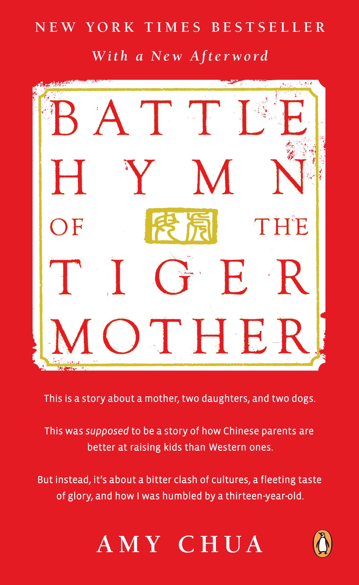"amy chua the tiger mom my opinion Amy chua, the now infamous ""tiger mother,"" delivered her parenting manifesto two weeks ago in a wall street journal article headlined ""why chinese mothers are."