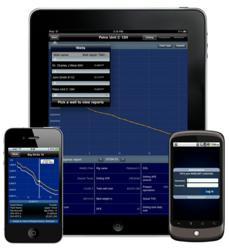 Mobile reporting app for the oil & gas industry.