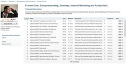 PreneurCast | Marketing Podcast iTunes