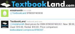 twitter textbookland