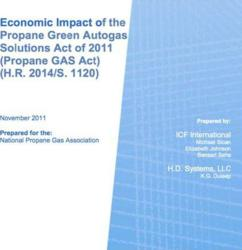Economic Impacts of the Propane Green Autogas Solutions Act
