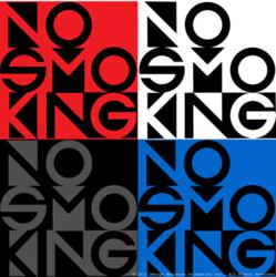 """Fluxus / George Maciunas """" No Smoking"""""""