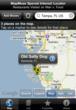 A screenshot of the map.