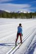 Cross-country skiing in Winter Park-Fraser Valley